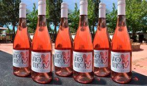 6 botellas vino del amor